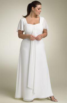 Vestido de novia con mangas. Encuentra más inspiración en http://bodatotal.com/