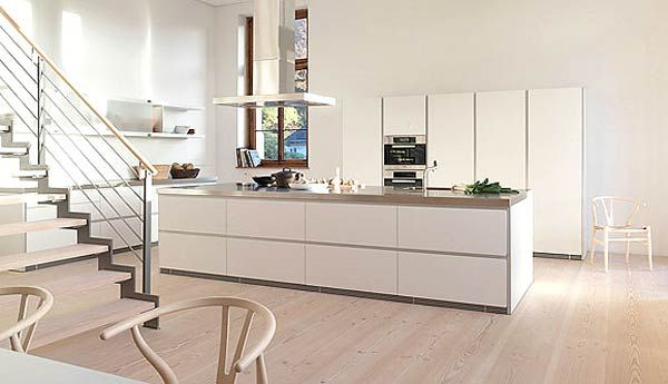 Minimal Super Stylish White Kitchen : Bulthaup B1