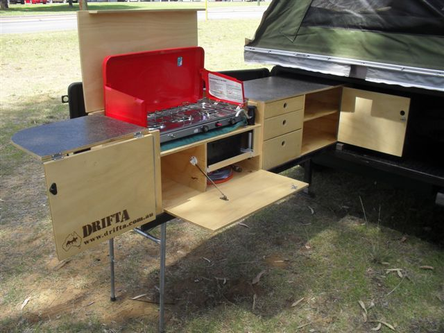 Pin by omar kuchel on camper van interior fit out ideas for Campervan kitchen ideas
