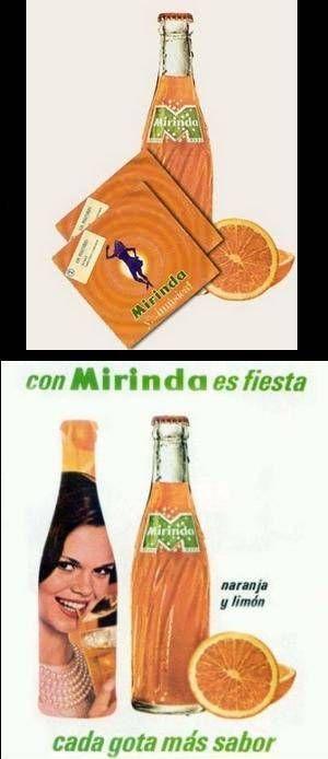 Refrescos - Mirinda