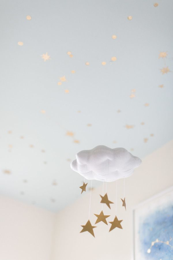 DIY starry ceiling: http://www.stylemepretty.com/living/2015/07/28/diy-starry-ceiling/ | Photography: Ruth Eileen - http://rutheileenphotography.com/