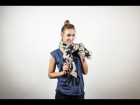 ▶ 10 Wege einen Schal zu binden   EDITED - YouTube