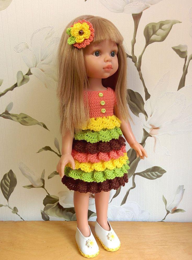 Платья с оборочками для кукол Паоло Рейна. Ваши работы девочки! – 26 фотографий