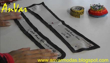 AnVar - Te enseño a coser: CUELLO DE CAMISA CON TIRILLA
