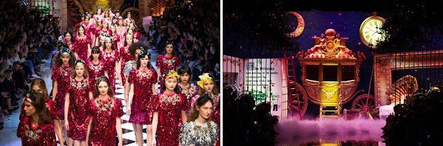 Roefashion: Dolce&Gabbana -  księżniczkowa kolekcja jesień-zim...