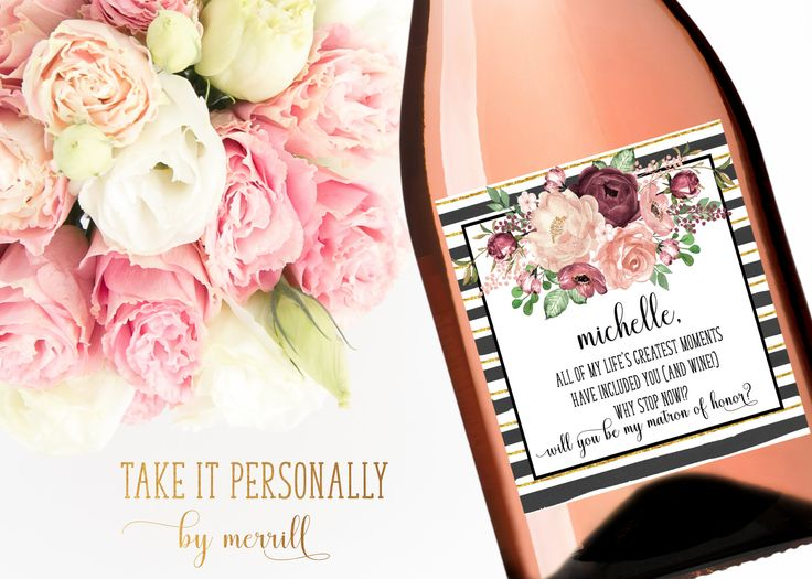 25 Best Ideas About Wine Bottle Favors On Pinterest