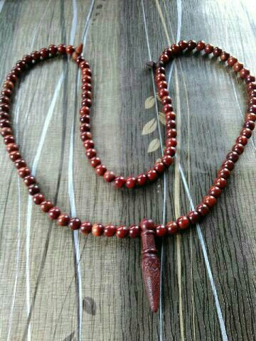 Handmade muslim prayer beads wooden tasbih beads (99)