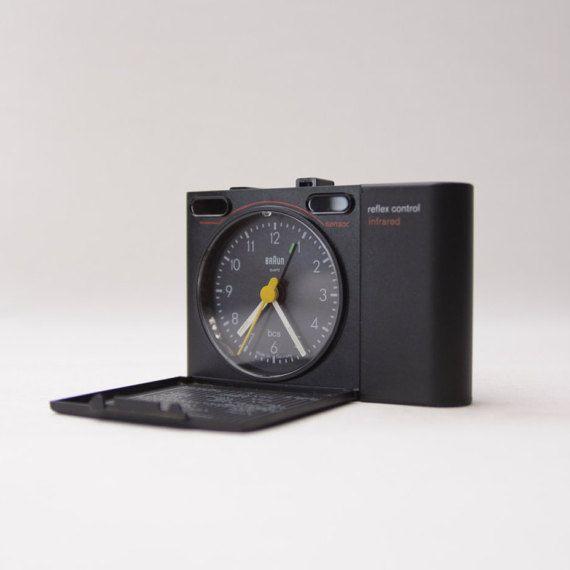 BRAUN Alarm Clock AB 313 rsl Reflex Control  Mint by Ottantaocchi