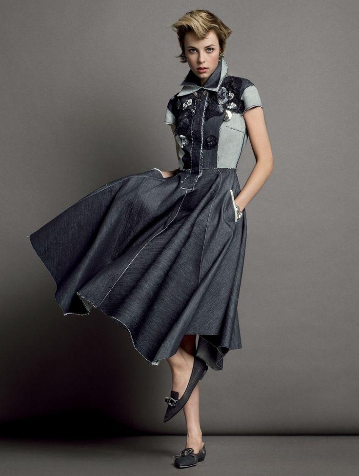 Эди Кэмпбелл Vogue US 2015