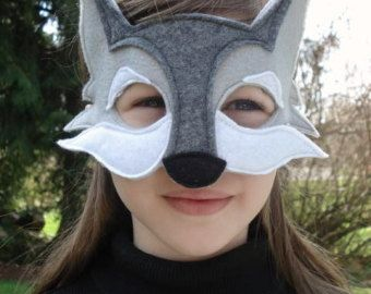 Wolf Mask PDF Pattern by oxeyedaisey on Etsy
