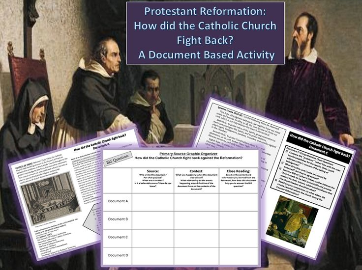 the reasons behind the reformation of the catholic church The catholic church was not solely responsible for the force behind the protestant reformation this is because the church did not have wealthy followers and noblemen compared to those who were attracted to the theology of martin luther and john calvin[2.