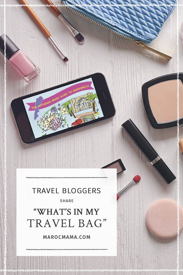 What do world traveling women back in their toiletry bags? Get inspired and some new tricks in this post.