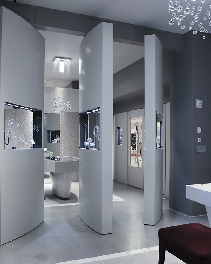 Anna Hu Haute Joaillerie flagship by FZAD Architecture+Design, New York store design