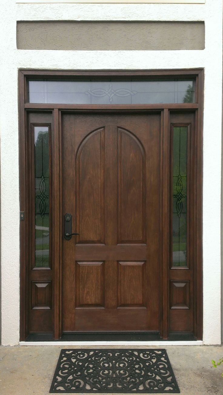 New Therma Tru Classic Craft Door With Longford Glass