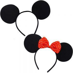 Inspiration, alle Accessoires und eine Schmink-Anleitung, damit du dein Minne & Micky Maus Kostüm selber machen kannst.