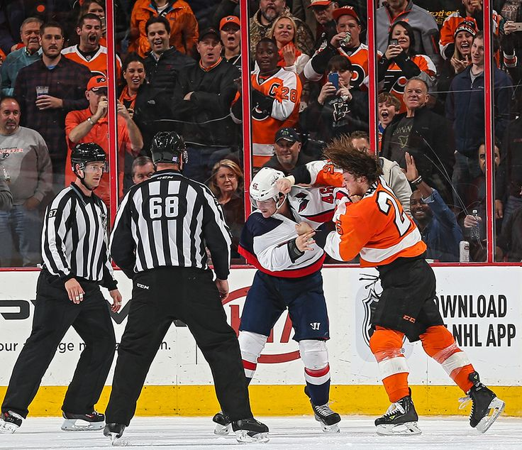 Ryan White vs. Michael Latta : Fists are flying in these must-see NHL fight photos