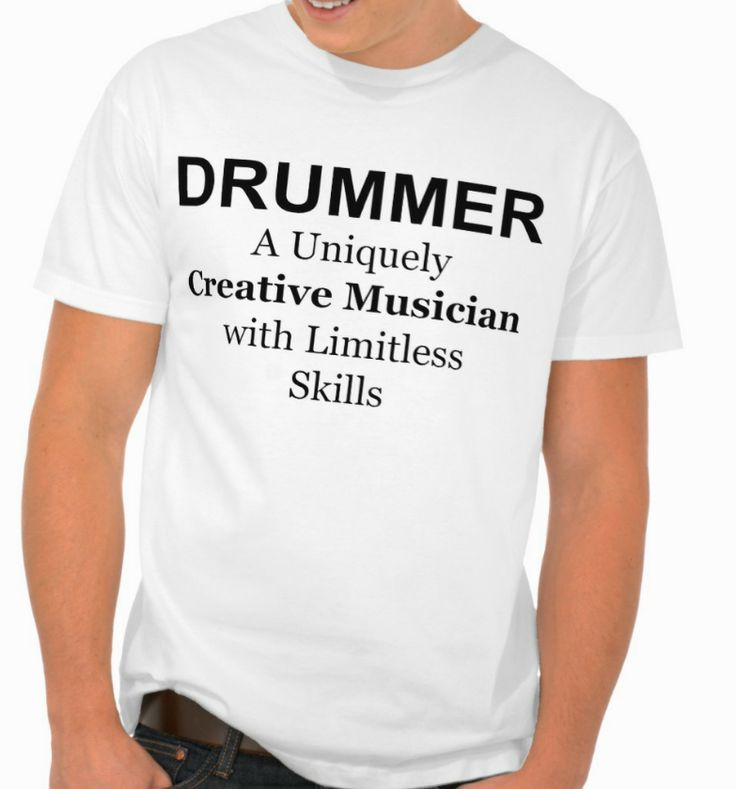 DRUMMER Quotes and Sayings  T-shirt.  #TshirtsbyLahart Online Store