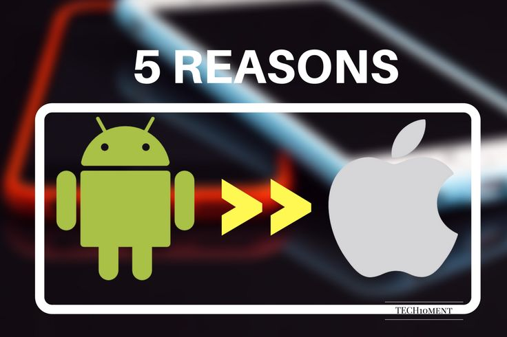8 reasons why android is better than iPhone