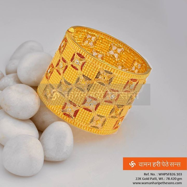 A #precious #gorgeous #traditional yet #stylish #gold #patli for the best you desire.