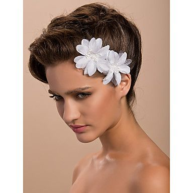 Gorgeous Satin Wedding Bridal Flower/ Corsage/ Headpiece (Two Flowers) – USD $ 2.69