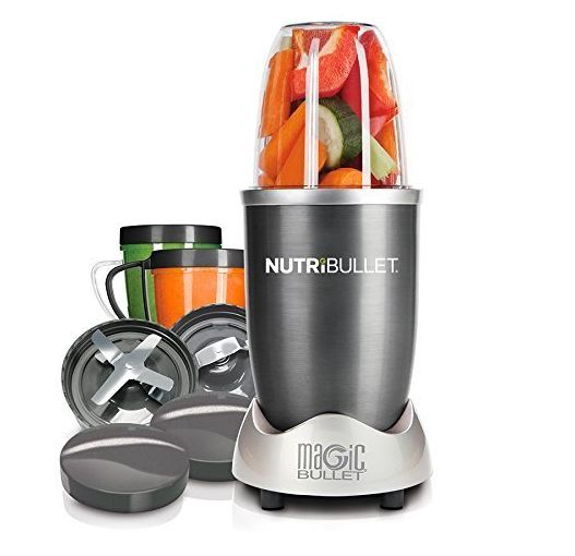 A Magic Bullet mixer that'll send them into a state of blended bliss.