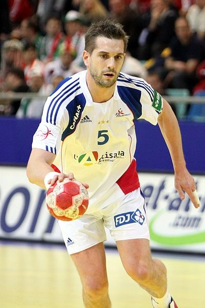 Guillaume Gille (HSV Hamburg), France national handball team/ Steindy/ GNU Free Documentation License