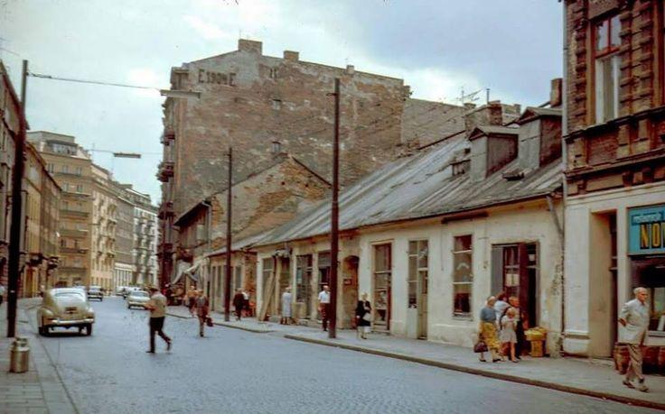 Ulica Mokotowska w 1967 roku  ABC Warszawy