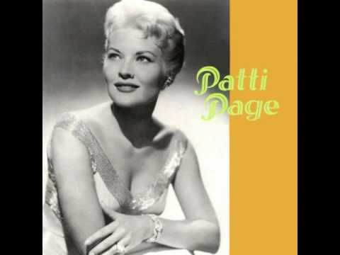 Patti Page - A Poor Man's Roses - YouTube
