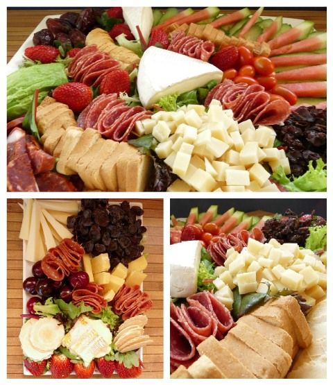 Cheese platter tips and ideas, Christmas Party Cheese Platter