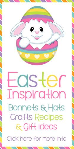 Find easter bonnet, hat and craft ideas, along with some tasty recipes and gift ideas on The Organised Housewife.