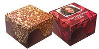 Valentijn doosjes met of zonder foto en tekst. Werktekening printen, knippen en beetje plakken. Mooi met deksel met rondingen