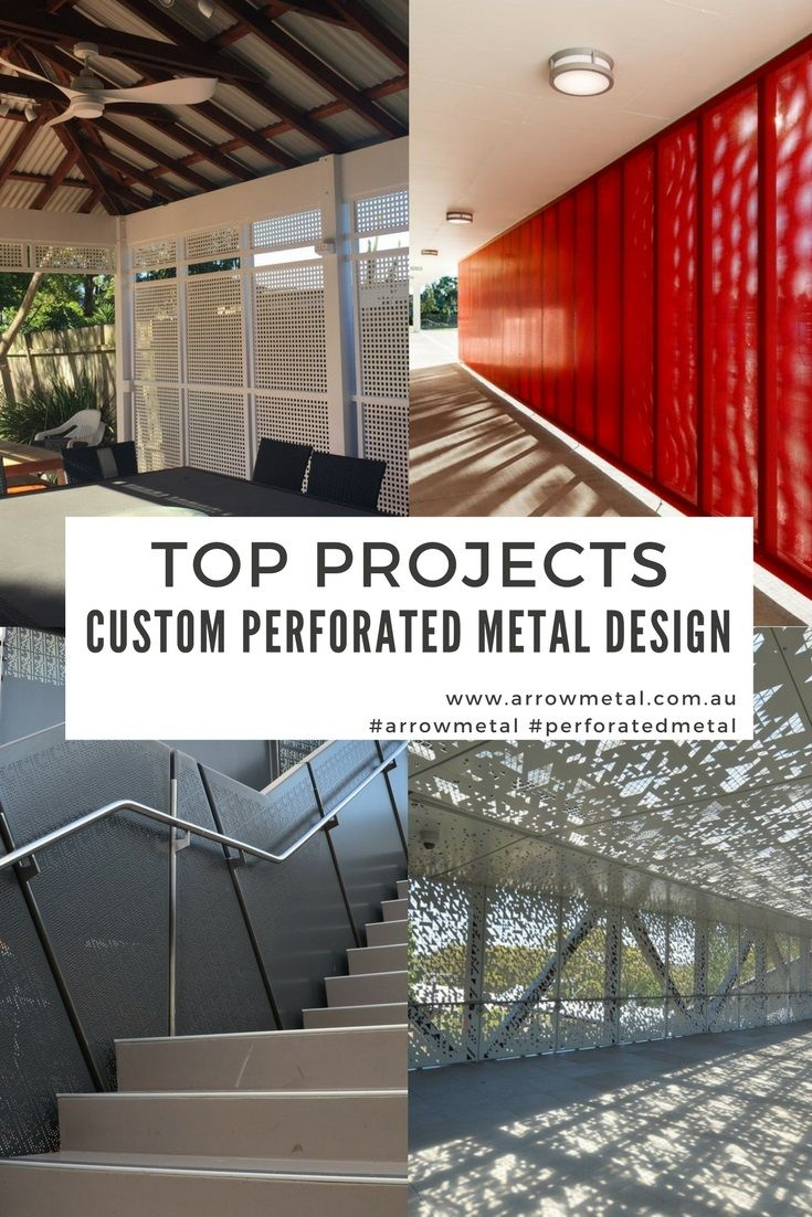 Need custom perforated metal design? Arrow Metal custom perforated metal features in these amazing #residential and #commercial projects across Australia.  #arrowmetal #perforatedmetal #customperforatedmetal #bespokeperforatedmetal #residentialprojects #commercialprojects #uniqueperforatedmetalpanels