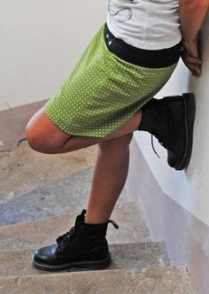 DIY: jupe portefeuille réversible {tuto couture}  #couture #brotherfs40 #diy #sew #sewing #skirt