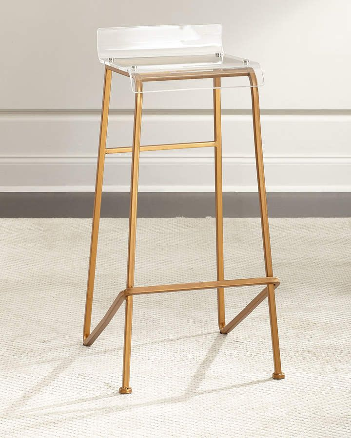 Reese Barstool In 2019 Products Bar Stools Acrylic