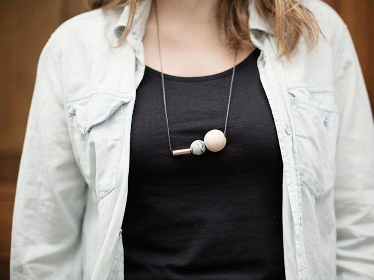 Tutoriel DIY: Faire un pendentif de grosses perles via DaWanda.com