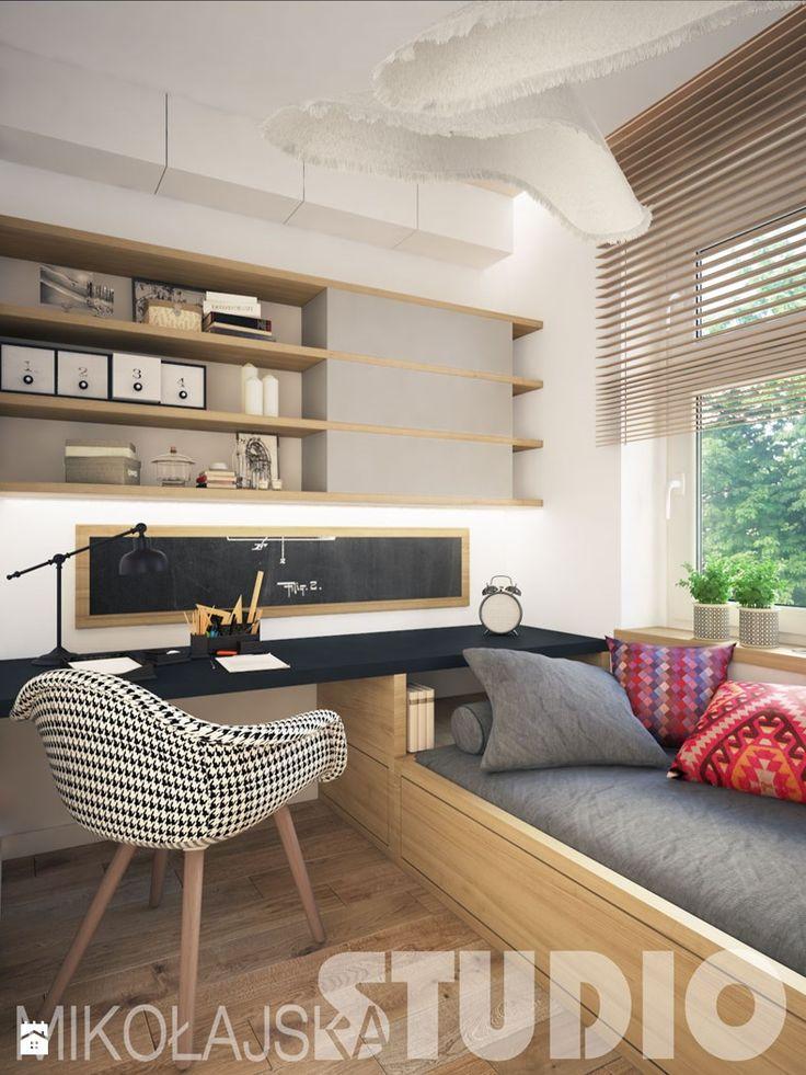 interior design teenager - zdjęcie od MIKOŁAJSKAstudio - Pokój dziecka - Styl Nowoczesny - MIKOŁAJSKAstudio