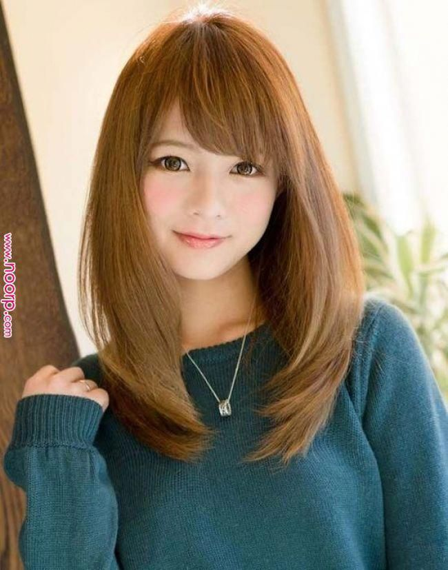 Beautiful hair make-up and hardworking color girl art | Japanese Hairstyle, Long Hairstyles, Medium Hairstyles Beautiful Hair Makeup and Hardworking ....