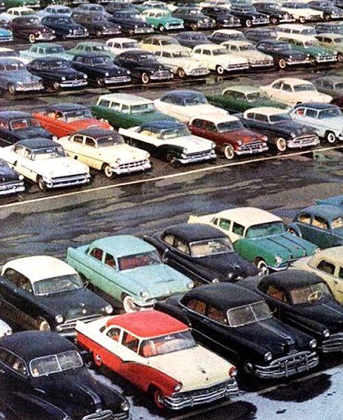 Parking Lot - 1956