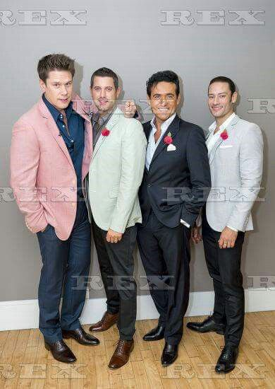17 best images about il divo on pinterest amor lea salonga and unchained melody - Divo music group ...