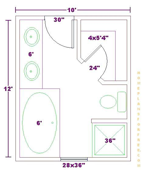 Master bathroom floor plans 10x10 Bathroom Designs ...