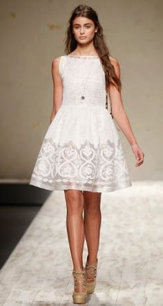 Trend Alert: Little White Dresses. Is The LWD Replacing The LBD This Season?
