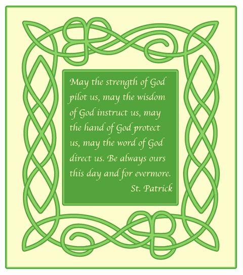 Free Irish Invitations | make a celtic knot border in illustrator for a st patrick s day irish ...