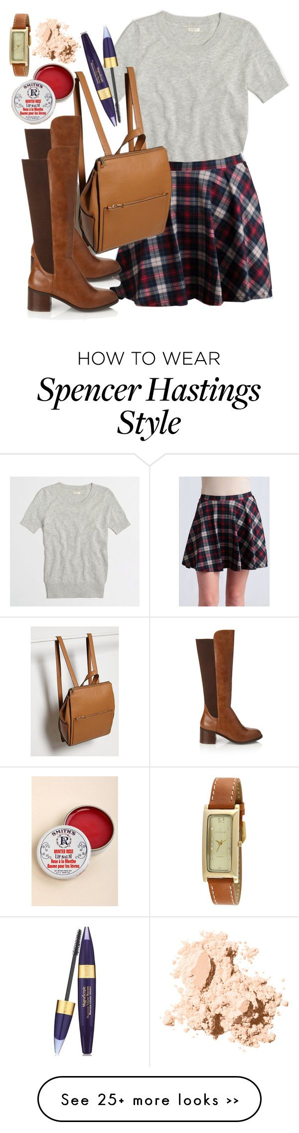 """Spencer Hastings inspired outfit with requested skirt"" by liarsstyle on Polyvore"