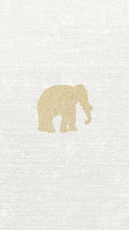 elephant-gold-glitter-iphone-6-wallpaper-free-download.png 750×1,334 pixels