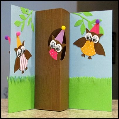 Owl punch - inside card