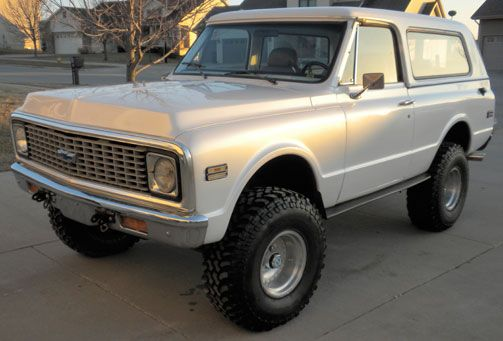 1972 Chevy K5 Blazer Maintenance/restoration of old/vintage vehicles: the material for new cogs/casters/gears/pads could be cast polyamide which I (Cast polyamide) can produce. My contact: tatjana.alic@windowslive.com