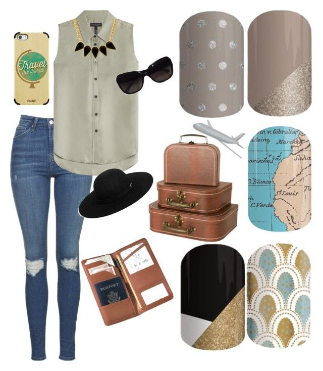 """Untitled #29"" by emilyrulez on Polyvore featuring Topshop, rag & bone, Royce Leather, Casetify, George & Laurel, Boohoo and Chanel"