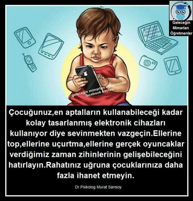 Çocuk ve Teknoloji Bağımlığı