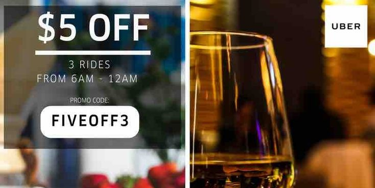 Uber Singapore $5 Off Uber Rides FIVEOFF3/NIGHTRIDES Promo Codes ends 4 Jun 2017
