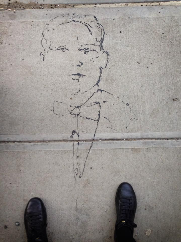 Street art in Williamsburg   Photographed by Margrethe Tang